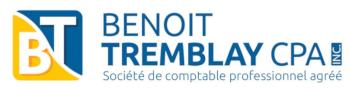Benoit Tremblay – CPA – Comptable Agréé Logo